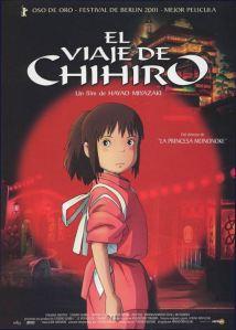 Cartelera El viaje de Chihiro